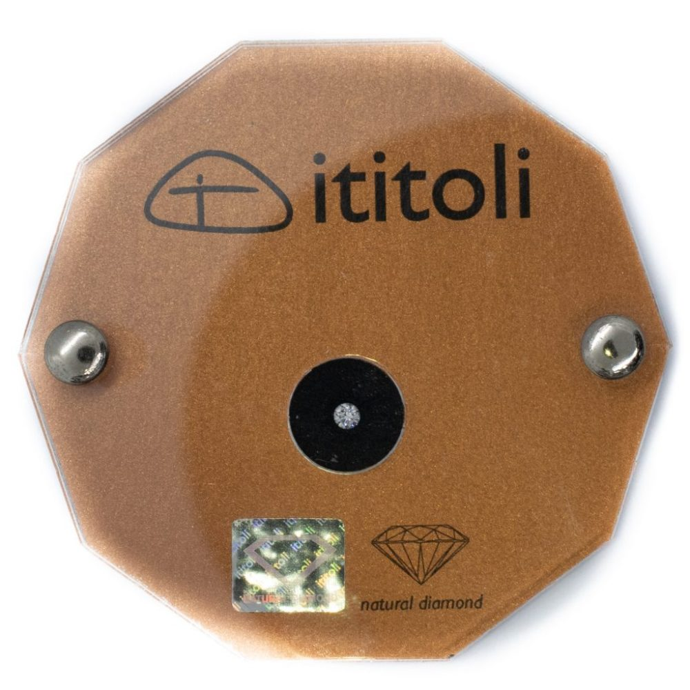 Ititoli diamant 0.10 ct